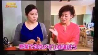 2016.07.13 ON AIR KHB東日本放送『突撃!ナマイキTV』より野菜で包む専...