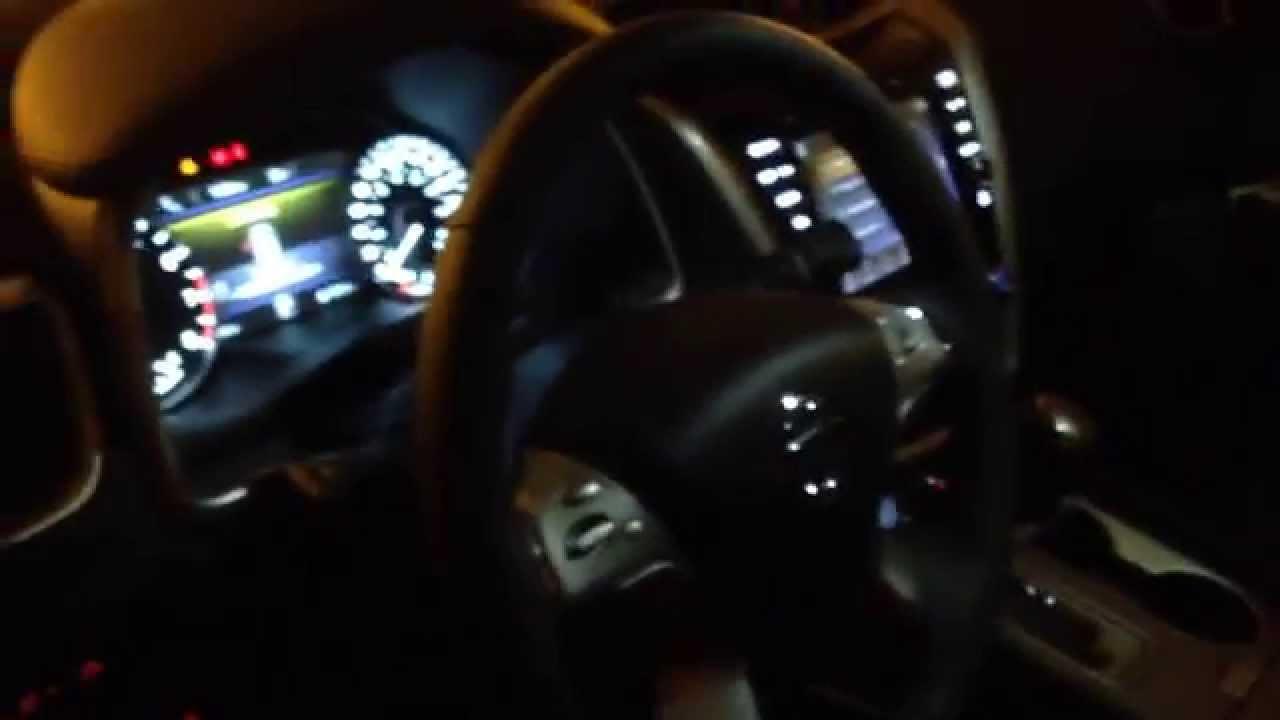 2016 nissan murano interior at night youtube - Nissan murano 2017 interior colors ...
