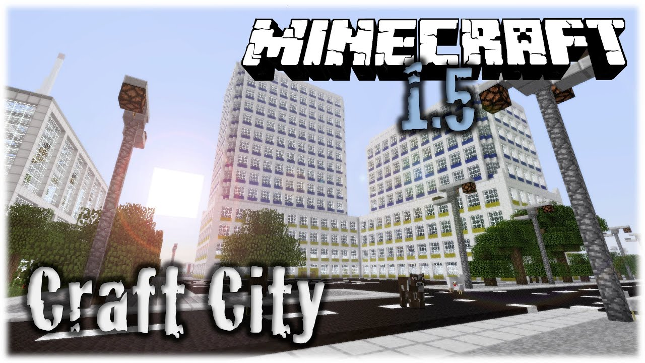 Minecraft vertoak city map presentation and download youtube.