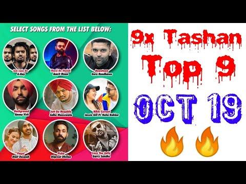 9x Tashan Top 9 of This Week- October 19, 2018 | Latest Punjabi Songs October 2018