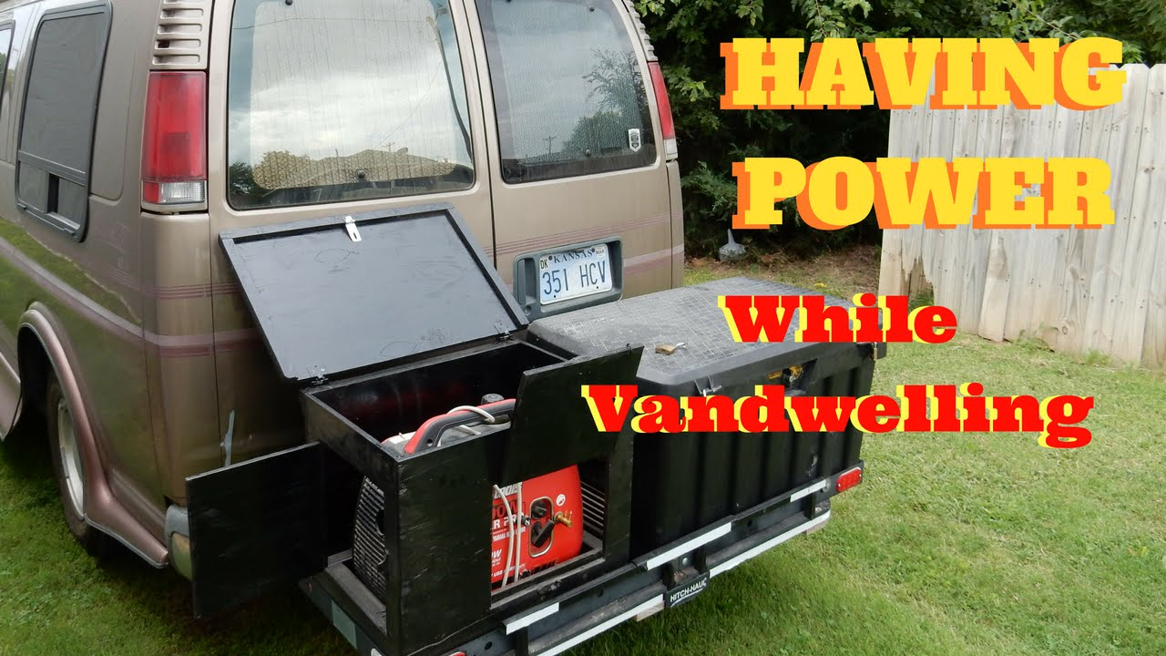 Vandwelling: How to install a gas powered generator