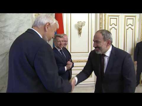 Nikol Pashinyan Receives OSCE Minsk Group Co-Chairs