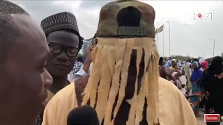 'ANAS' STORMS BLACK STAR SQUARE FOR EID UL-FITR PRAYERS WITH CHIEF IMAM #KOFITV