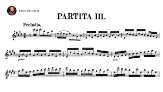Bach - Violin Partita No. 3 in E major, BWV 1006 {Grumiaux}