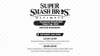 Super Smash Bros. Ultimate European Smash Ball Team Cup 2019 United Kingdom and Ireland Final
