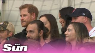 awkward-moment-prince-harry-ignores-meghan-markle-as-she-tries-to-talk-to-him-at-baseball-game