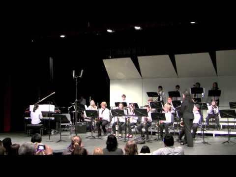 Albany Middle School Jazz Band at CMEA January 21, 2011