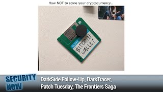 The WiFi Frag Attacks - DarkSide Follow-Up, DarkTracer, Patch Tuesday, The Frontiers Saga