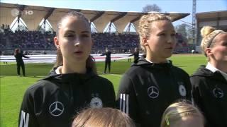 International Friendly. Women. Germany - Canada (09/04/2017)