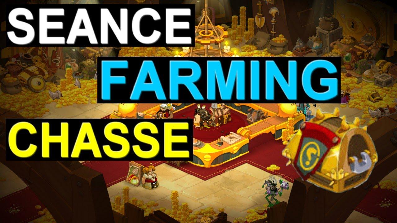 Dofus Séance Farming Xp 7 Chasse Au Trésor X4 148m D Expérience Heure