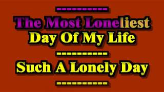 System Of A Down - Lonely Day (With sing-a-long karaoke lyrics)