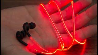 Светящиеся наушники - Купить светящиеся наушники GLOW(Купить светящиеся наушники Glow со скидкой http://vk.cc/3ZqT0o Доставка в Россию, Беларусь, Казахстан. Наушники Glow..., 2015-07-14T05:40:24.000Z)