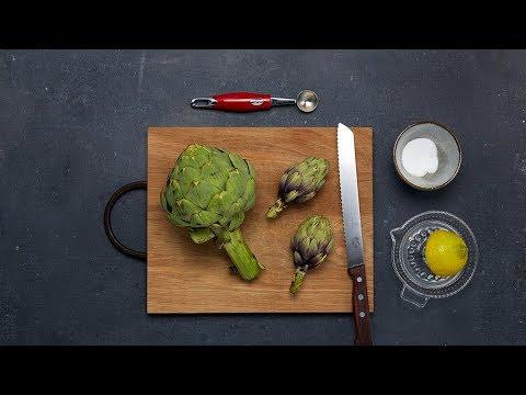 Artischocken Schälen Und Kochen Migusto How To Youtube