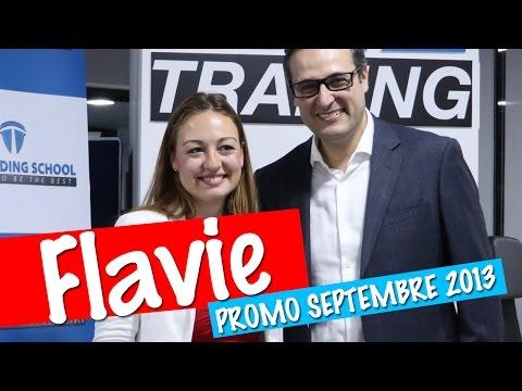 """Flavie """"A Dubai la réussite est importante et elle n'est pas négative contrairement en France"""""""