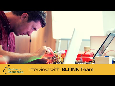 Interview with the BLIIINK Team (Dublin Hardware Hackathon 2014) #HackDublin