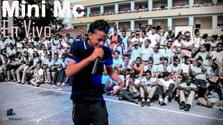 Live niña - Mini Mc  (En El Liceo Jose Francisco P.G)