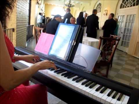 Wedding Cocktail Music - Kristin and Eric - www.PassionatePianist.com - Pianist Pittsburgh PA