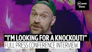 Tyson Fury: I'll make a mug of Wilder by knocking him to his a***!