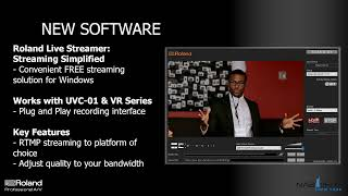 STAY CONNECTED with Roland UVC-01 Livestreaming Bundles