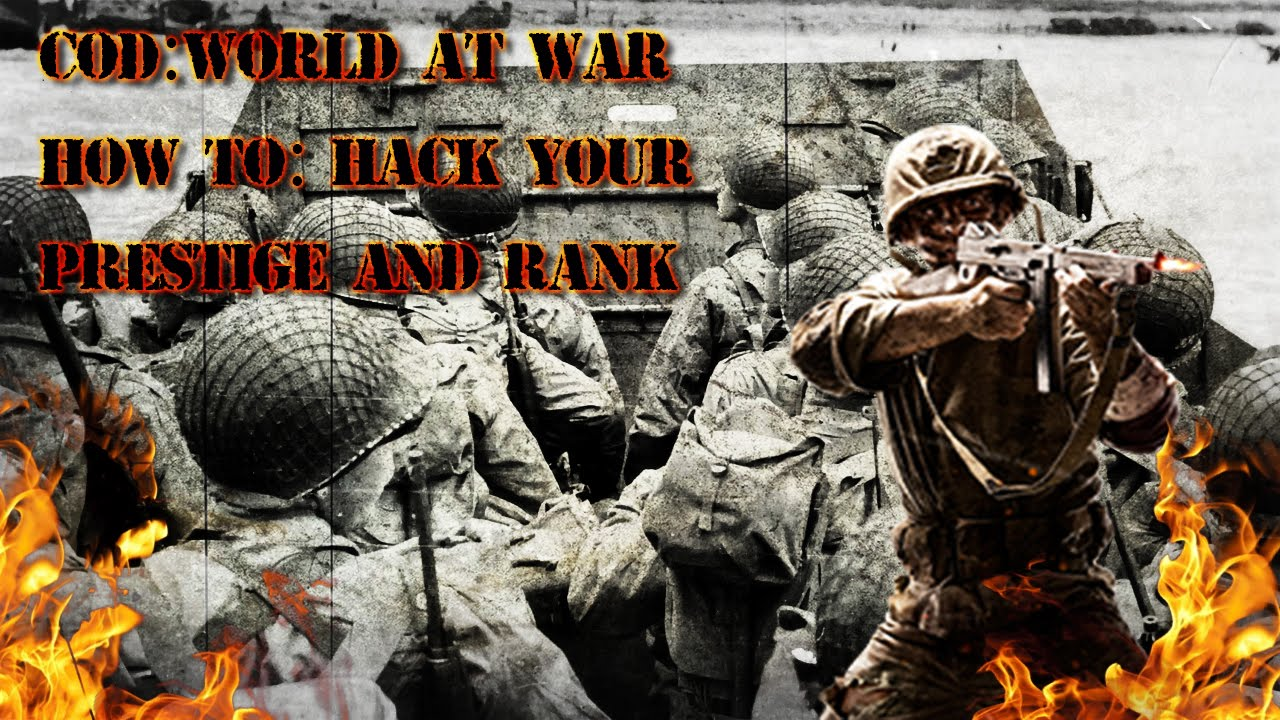 Call of Duty : World at War Prestige and Level hack **EASY** 2016