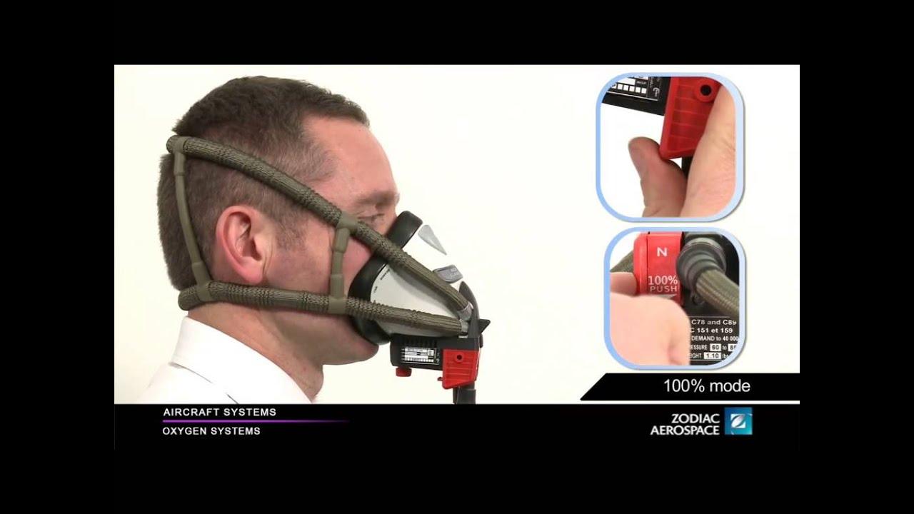 Zodiac Aerospace Eros MC 10 MXP6 Oxygen Mask Training Video