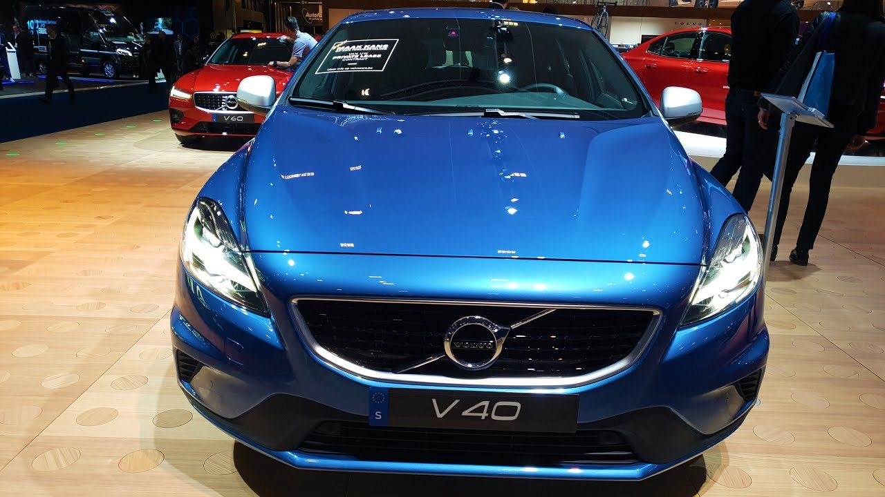 2019/2020 Volvo V40.T2 Facelift (P1) - YouTube