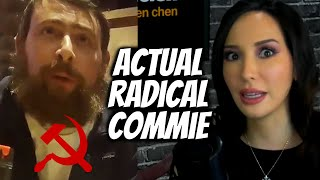 RADICAL, Pro-Violence COMMUNIST In Bernie Sanders Campaign (Project Veritas)