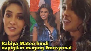 Rabiya Mateo NAGSALITA NA sa Pagkatalo sa Miss Universe 2021