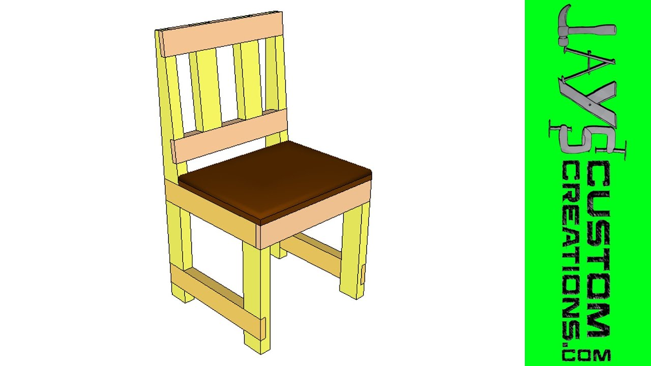 chair design sketchup covers wholesale half lap 2x4 dining 107 youtube