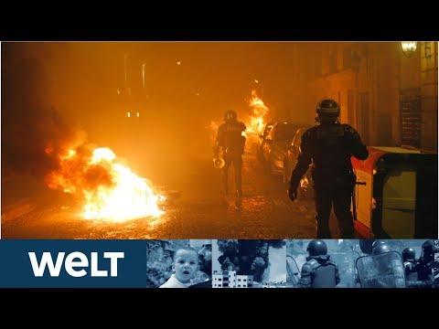 PROTESTE IN PARIS: Gelbwesten liefern sich brutale Straßenschlacht mit Polizei