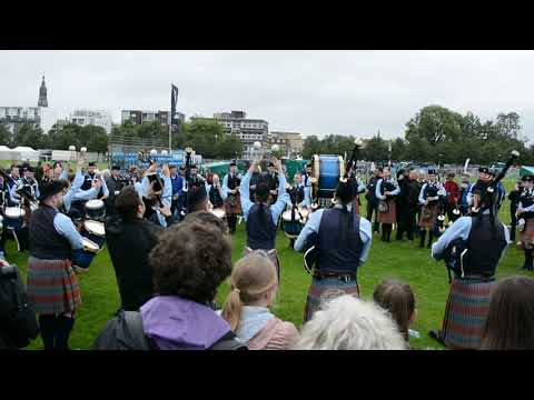 World Pipe Band Championships Glasgow 11.08.2017