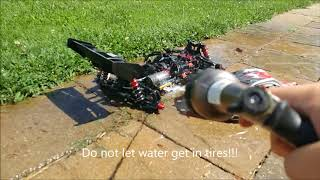 How to clean your R/C Vehicles! Simple and effective!