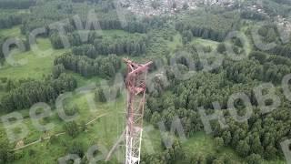 В Новосибирске рухнула радиовышка ЭКСКЛЮЗИВ
