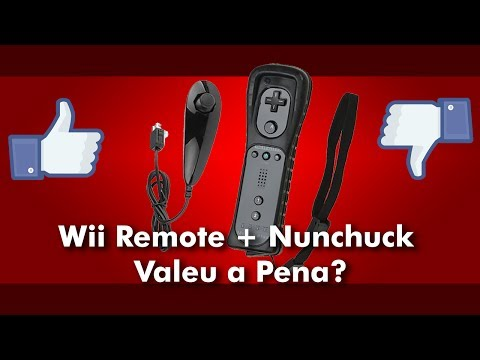 Wii Remote + Nunchuck Paralelo Valeu a pena?