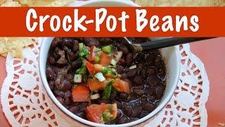 Crock Pot Recipe | Vegan Bean Stew| The Frugal Chef