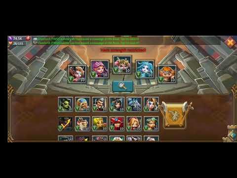 Lords Mobile Challenge 2 - 11 Winning Team