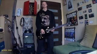Korn   Falling Away From Me Chomik cover 6 strings