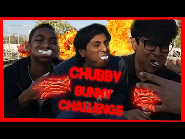 *WARNING*THE SPICIEST CHUBBY BUNNY CHALLENGE!!(GONE WRONG) *VOMIT ALERT*