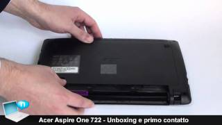 Acer Aspire One 722 - Unboxing e preview