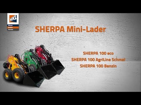 SHERPA Mini-Lader im Einsatz | Produktfilm in 4K | HKL BAUSHOP