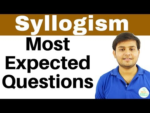 Syllogism के Most  Expected Questions सभी Banking और SSC Exams के लिए