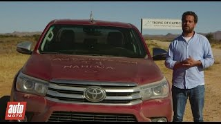 2016 Toyota Hilux [ESSAI] : le test sur les pistes de Namibie