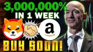 Amazon Partnership with Shiba Inu Coin And Price Will Skyrocket To $0.01 Soon!!