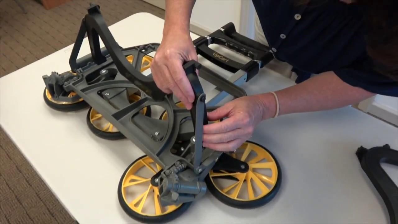 How To Replace Your UpCart's Foot | UpCart Stair Climbing Carts