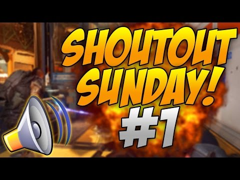 Shoutout Sunday #1! - Grow Your Channel! Gain Active Subscribers!