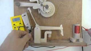Electric Wooden Gear Clock