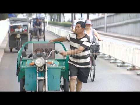 CHINA-BEIJING RECORD HOT WEATHER