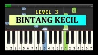 nada piano bintang kecil - piano tingkat 3 - instrument lagu anak anak pintar
