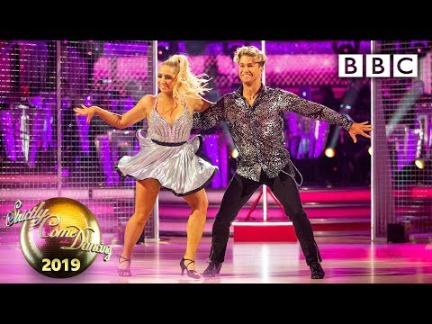 saffron-barker-and-aj-salsa-to-'instruction'---week-7-|-bbc-strictly-2019