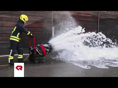 FANERGY fan as a foam generator - Rosenbauer